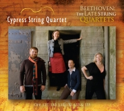 Cypress String Quartet - Beethoven: the Late String Quartets - Cover Image
