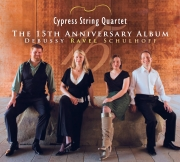 Cypress String Quartet - The 15th Anniversary Album - Cover Image