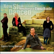 Cypress String Quartet - How She Danced - Cover Image